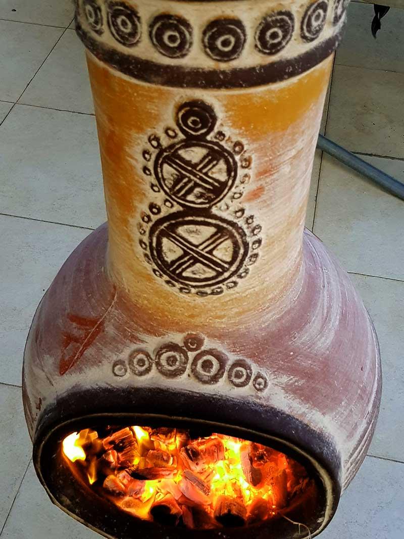 Vente cheminées mexicaines
