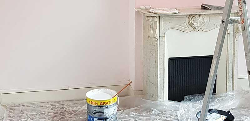 rénovation peinture intérieur Marseille